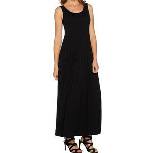 PM Hot in Hollywood Petite Maxi Dress Black